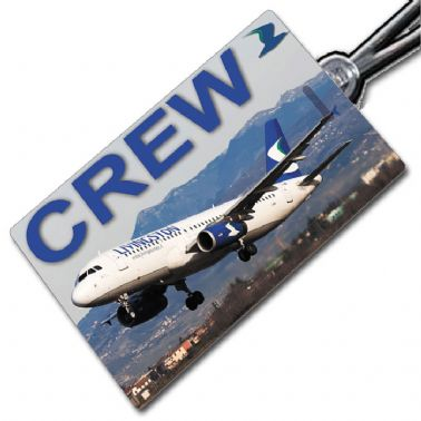 Livingston A320 (picture) Crew Tag
